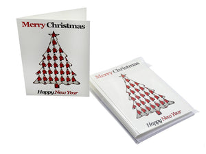 Chelsea Pensioner Christmas Tree Christmas Cards (Pack Of Ten)