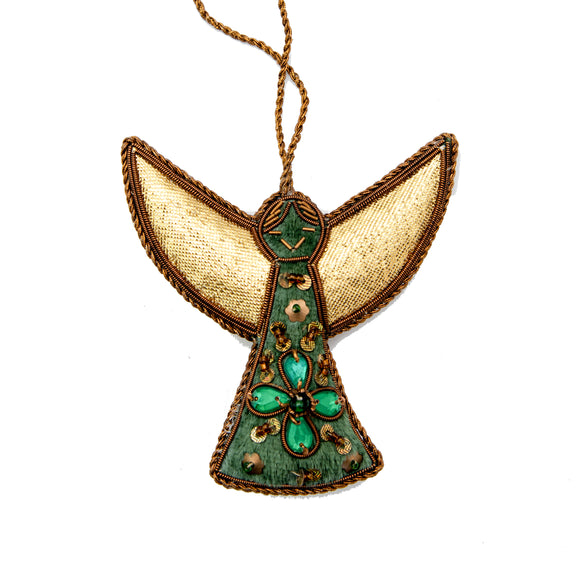 Green Angel - Hanging Decoration