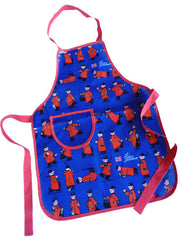 Childs Navy PVC Apron