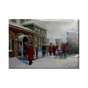 Chelsea Pensioners in the snow Christmas Cards (Pack of 10)
