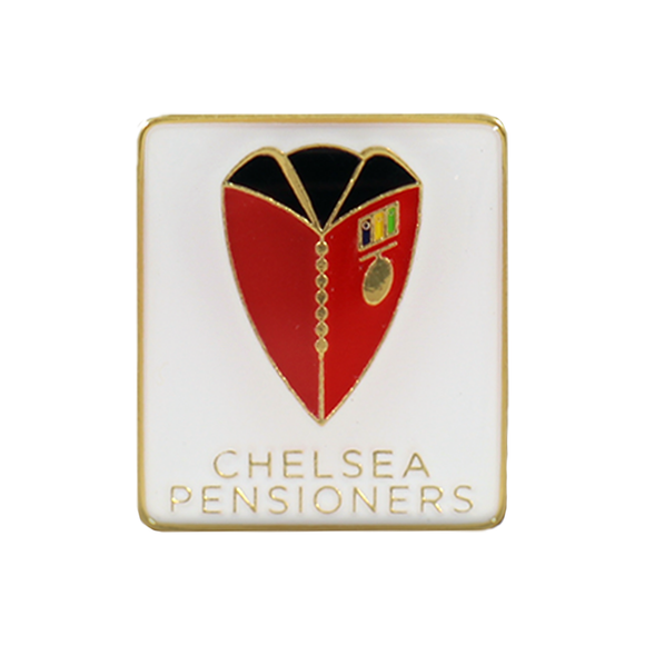 Cheslea Pensioner logo Pin Badge