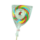Large Striped Twist Rock Lollipop
