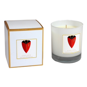 Boxed scented candle - Chelsea Pensioner Logo