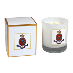 RHC Crest Boxed Candle