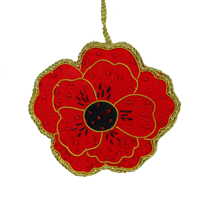 2018 Poppy Decoration