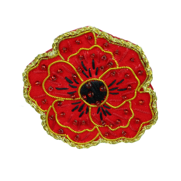 2018 Poppy Brooch