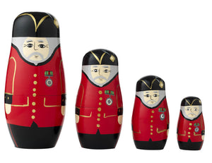 Chelsea Pensioner Russian Style Stacking Dolls