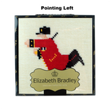Elizabeth Bradley Chelsea Pensioner Embroidary Kits REDUCED from £30 to £25