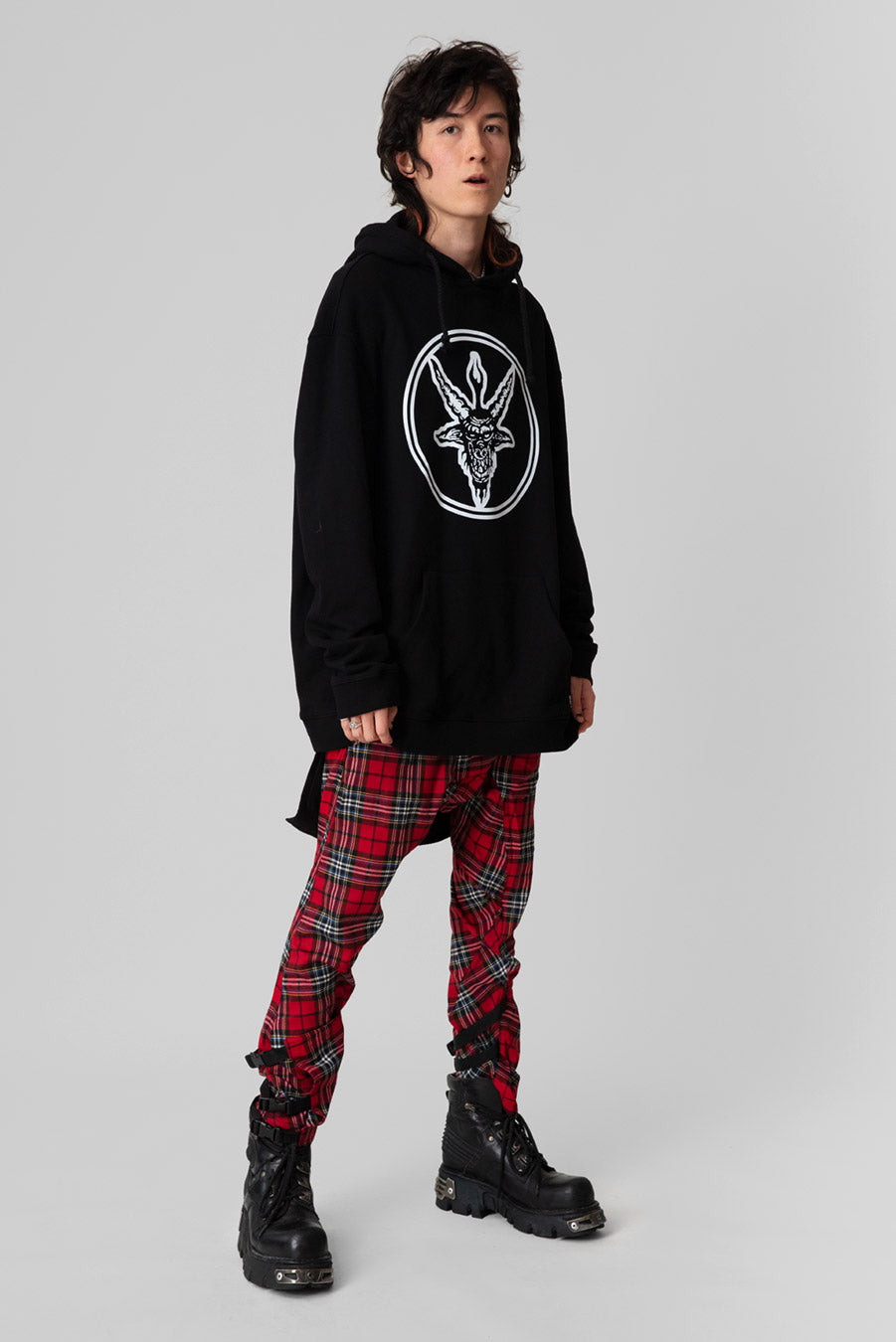 Baphomet - Oversize Hooded Sweat