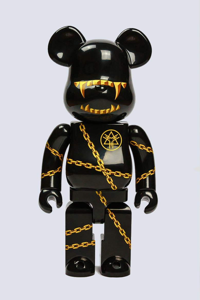 LONG x MISHKA 100% BEARBRICK