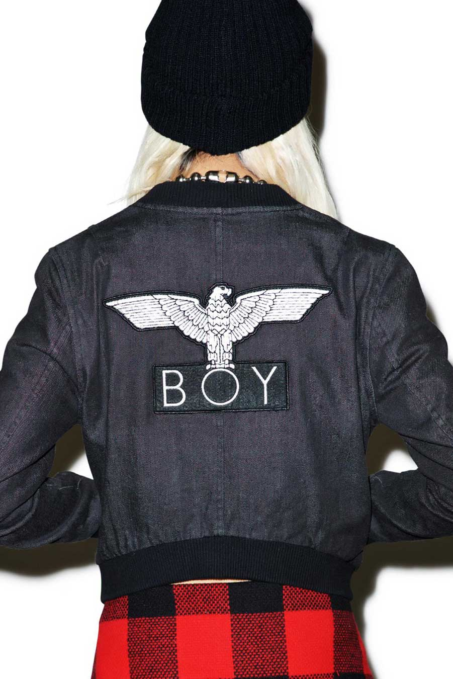 Boy Denim Jacket (Black)