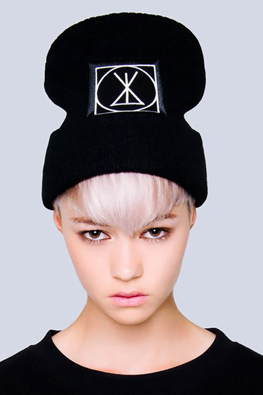 Long ICON Beanie - Large Patch