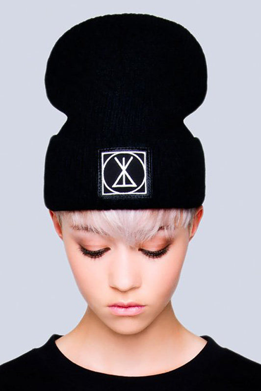 Long ICON Beanie - Small Patch