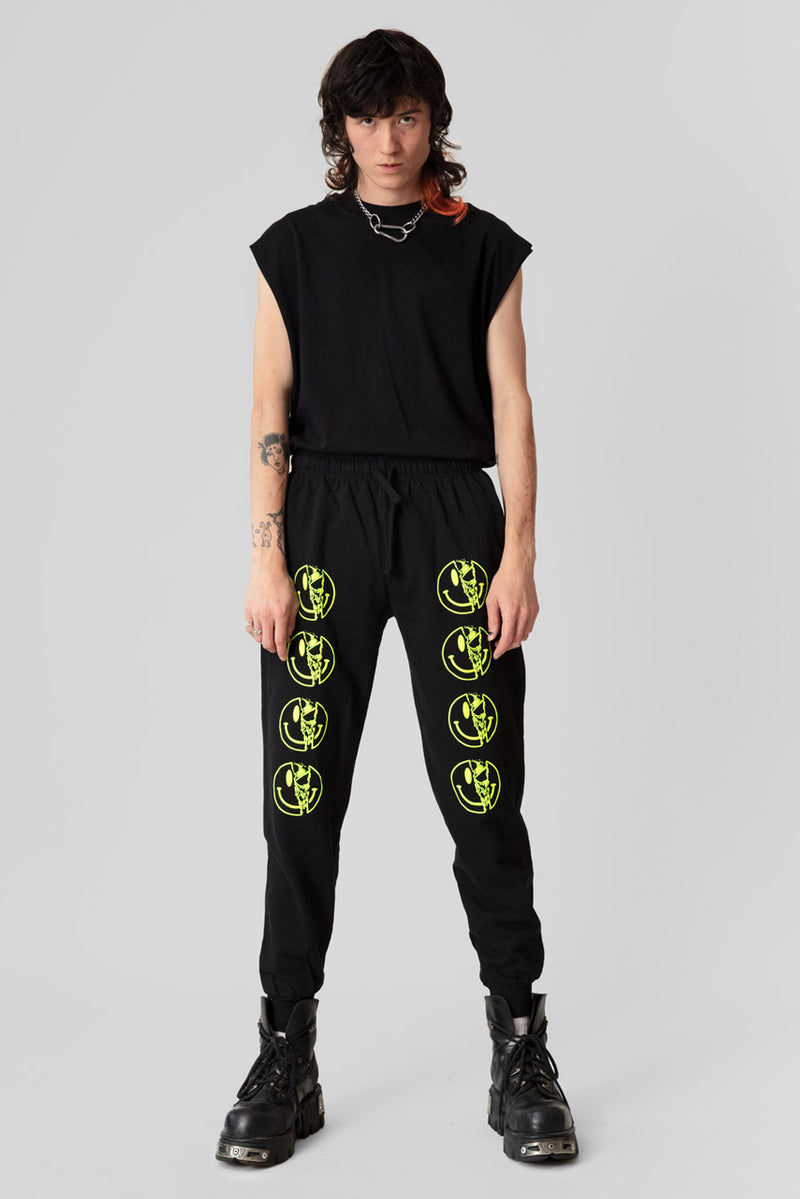 Killer Smiley Joggers (Neon)