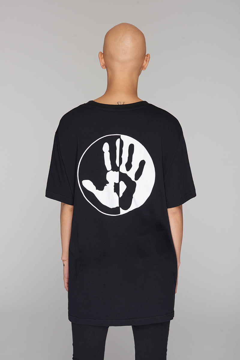 Long Clothing By Any Means Logo Blk T 2