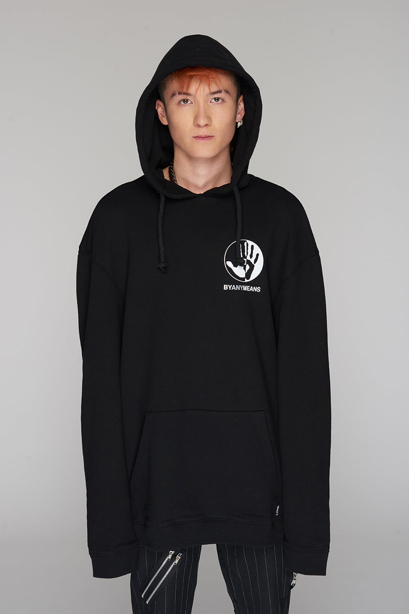 Long Clothing By Any Means Logo Hoody 5