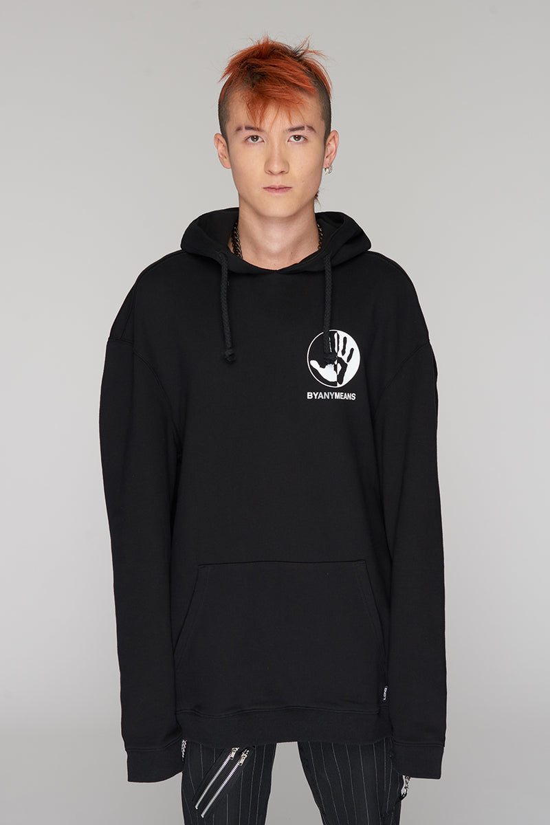 Long Clothing By Any Means Logo Hoody 6