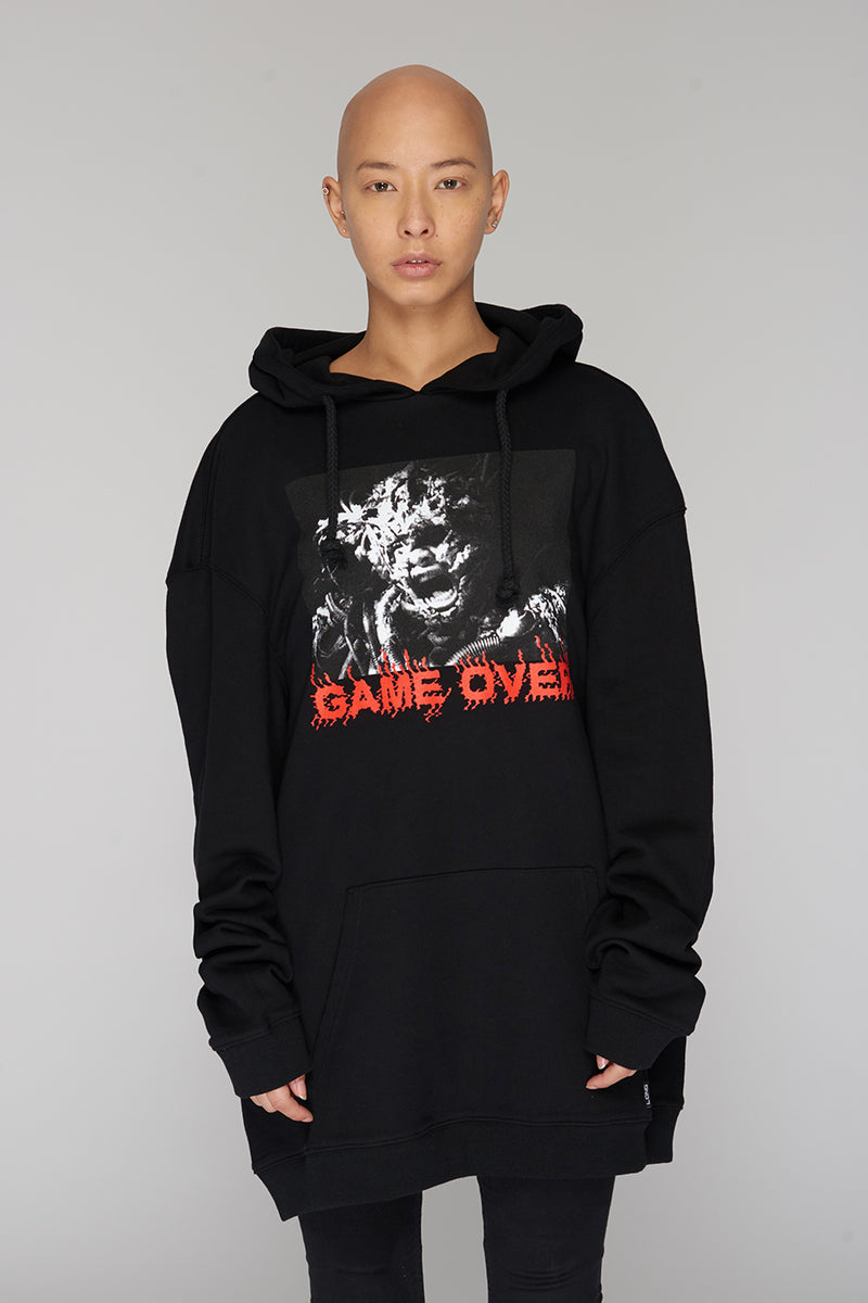 Long Clothing Game Over Hoody 2