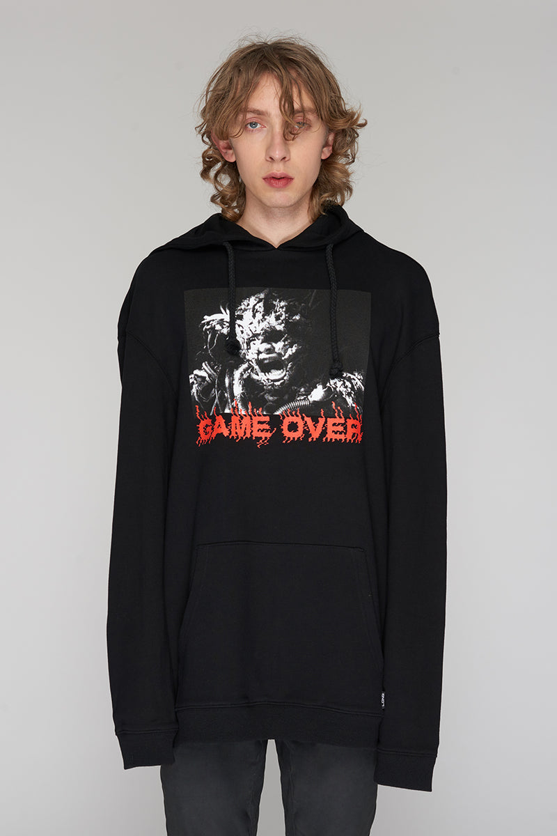 Long Clothing Game Over Hoody 4