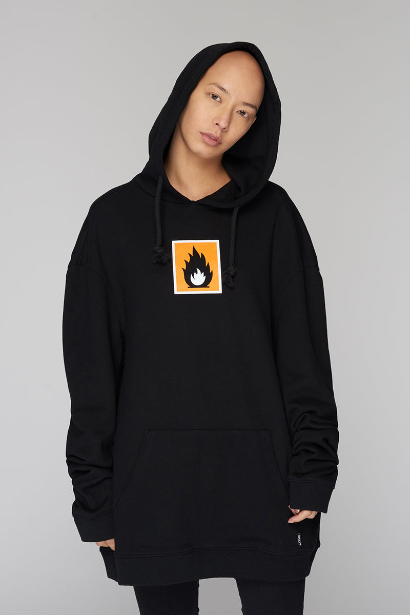 Long Clothing Highly Flammable Hoody 2