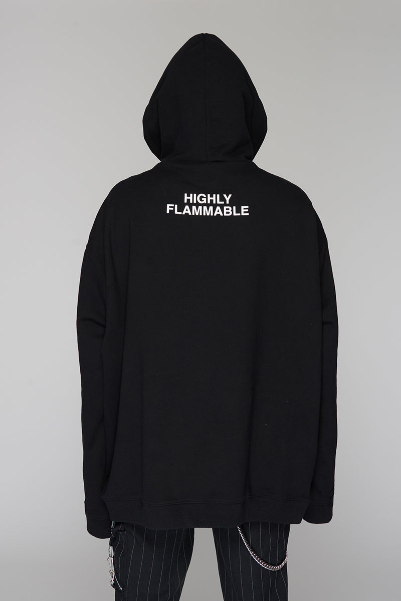 Long Clothing Highly Flammable Hoody 4