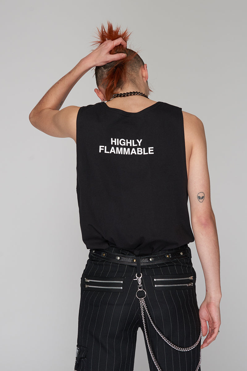 Long Clothing Highly Flammable Vest 6