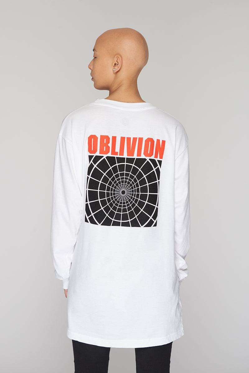 Long Clothing Oblivion Long Sleeve White 3
