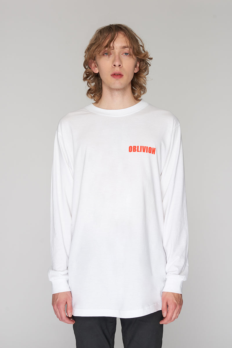 Long Clothing Oblivion Long Sleeve White 4