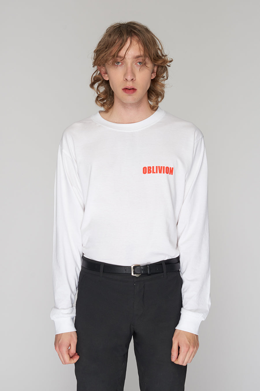 Long Clothing Oblivion Long Sleeve White 5