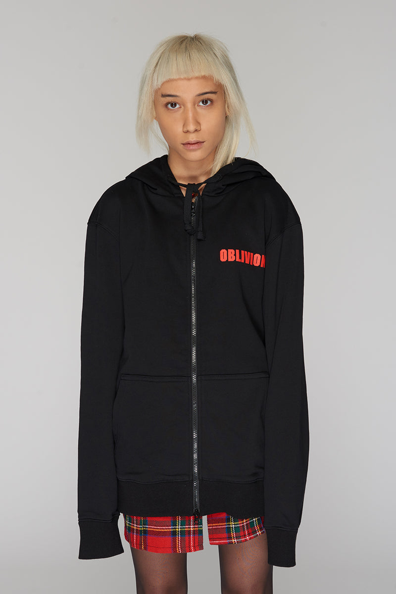 Long Clothing Oblivion Zip Top