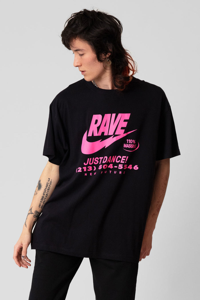ILLEGAL RAVE (Pink) - Tshirt