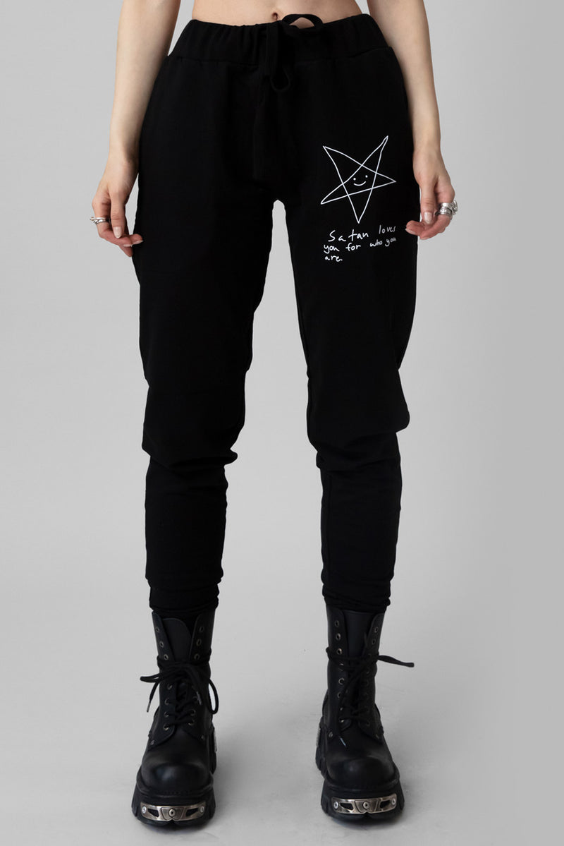 Satan Loves You Joggers (B)