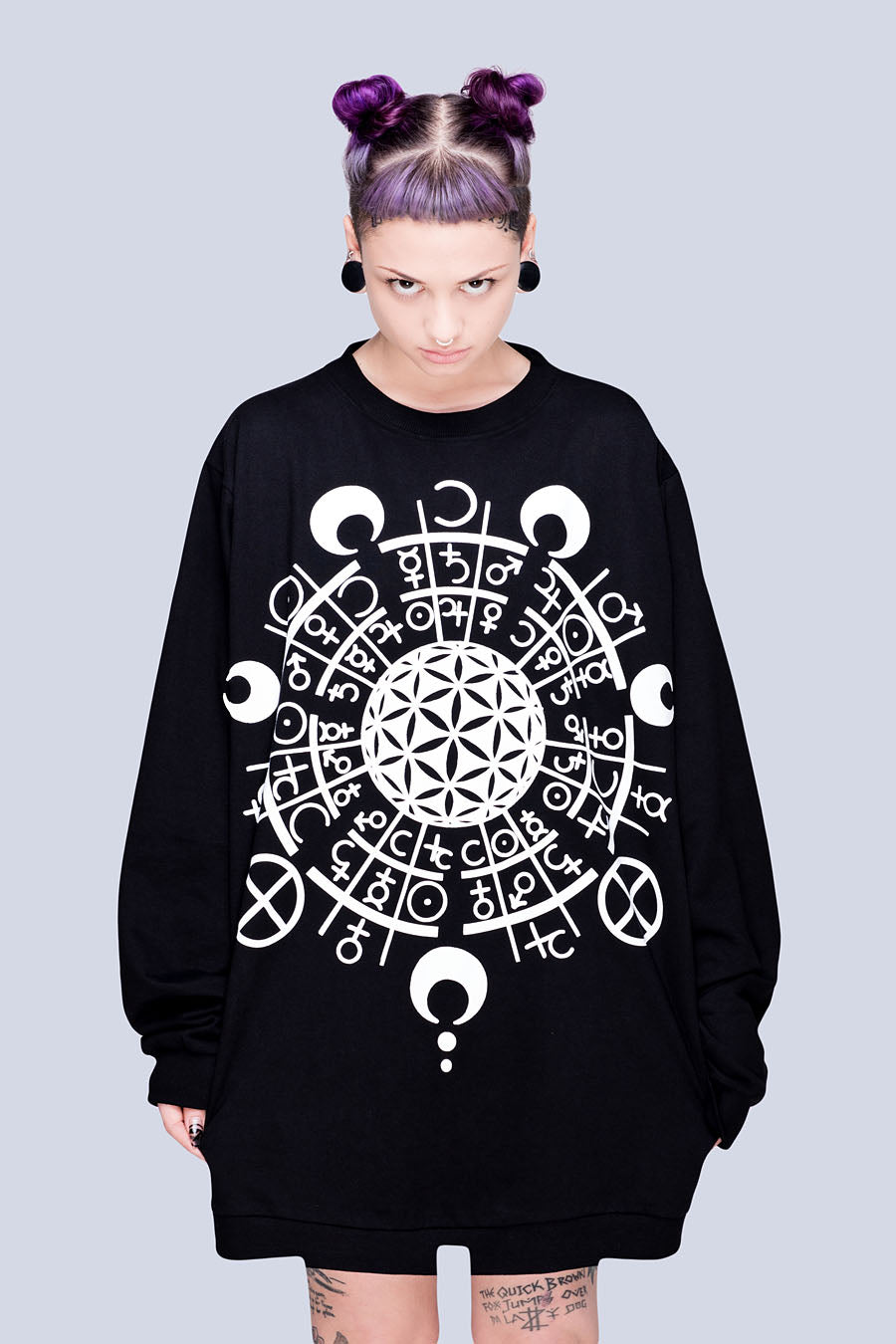 Long x Grace Neutral: Pocket Sweatshirt-2810