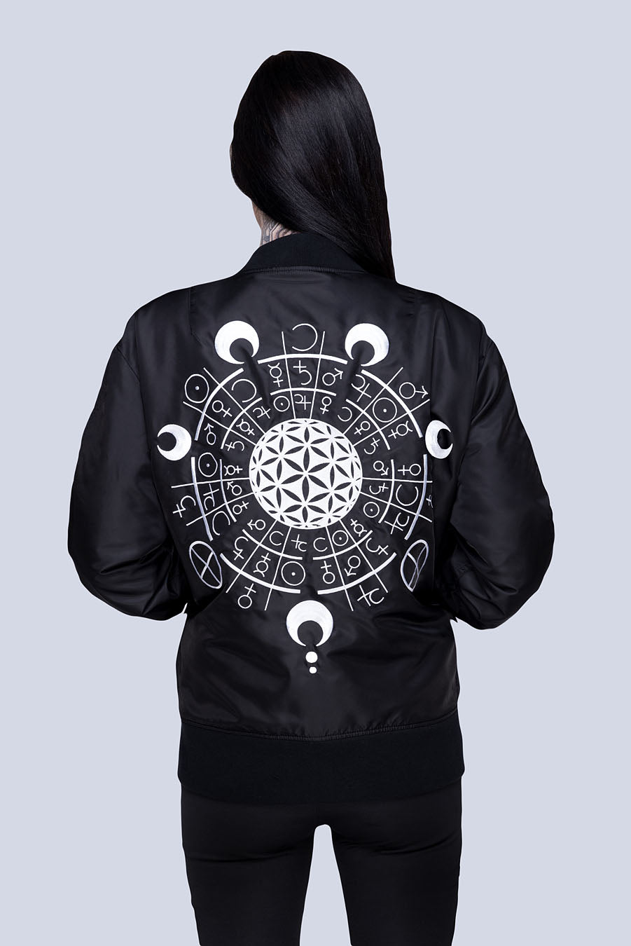 Long x Grace Neutral: MA1 Jacket (B)-2815
