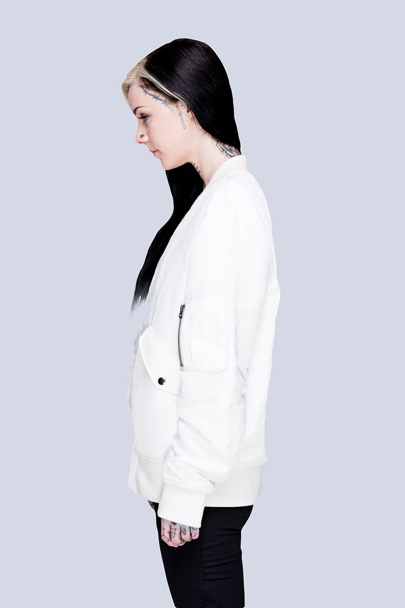 Long x Grace Neutral: MA1 Jacket (W)-2819