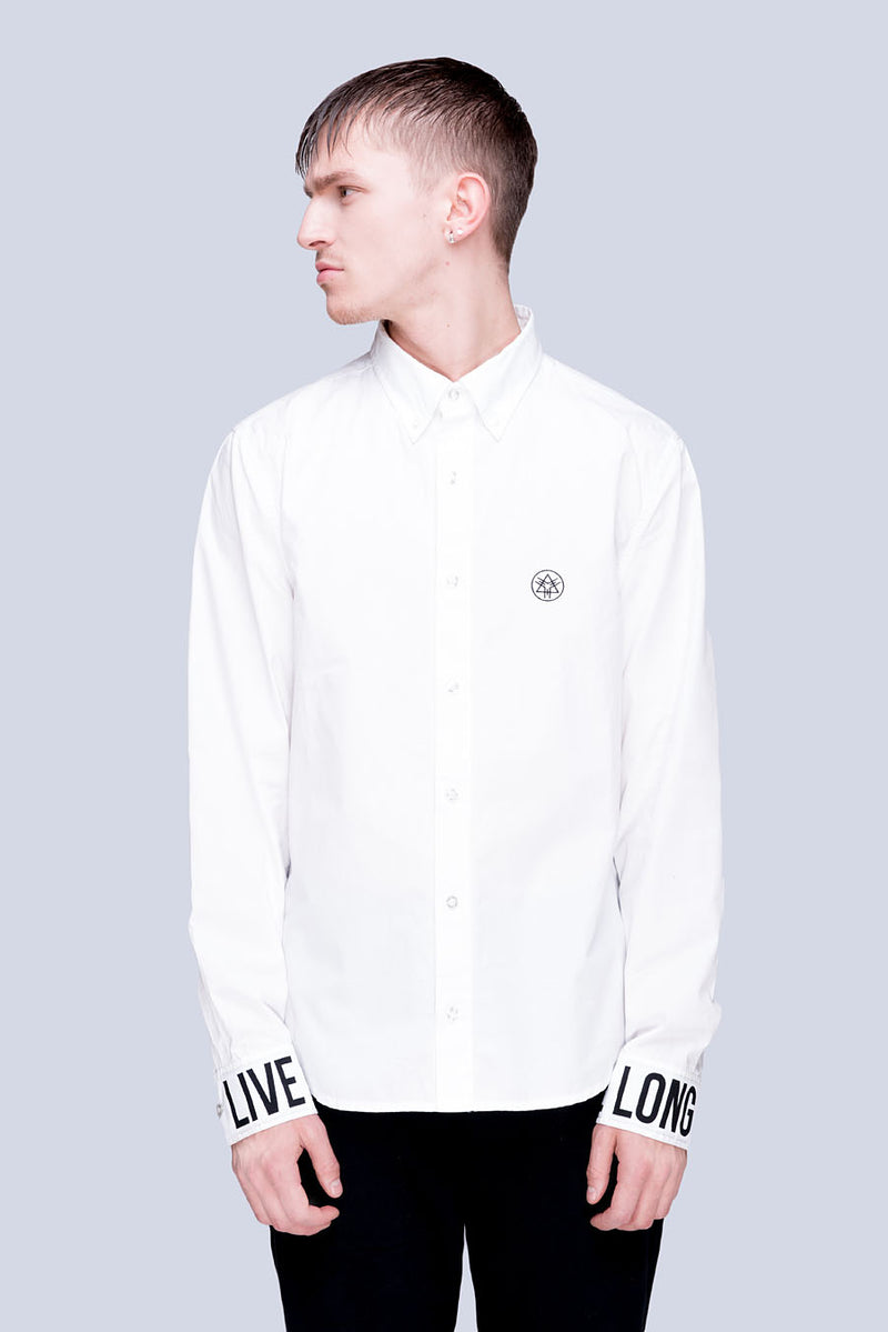 Live Long Buttoned Shirt (W) - Unisex-2783