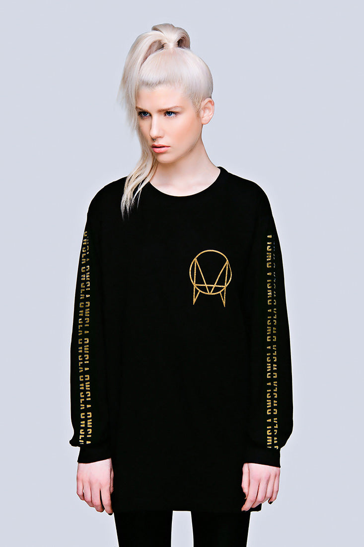 Owsla Long Sleeve (Gold)-0