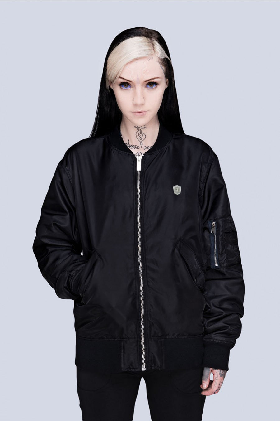 Long x Grace Neutral: MA1 Jacket (B)-0