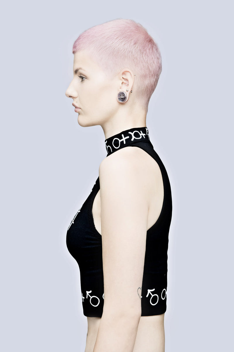 Long x Grace Neutral: Crop Top-3061