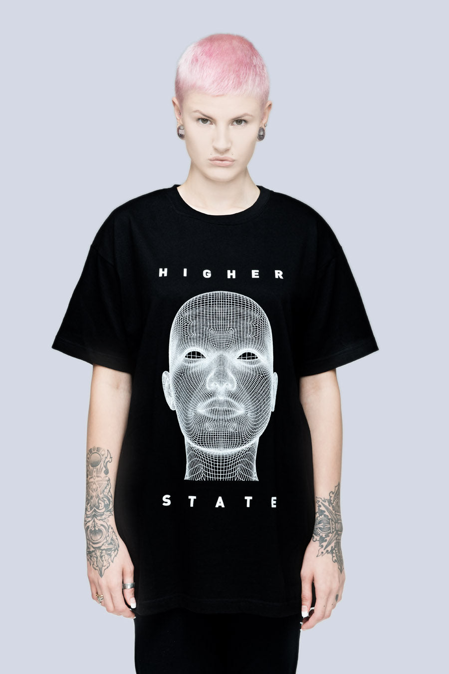 Long x Pussykrew Higher State TShirt-3051