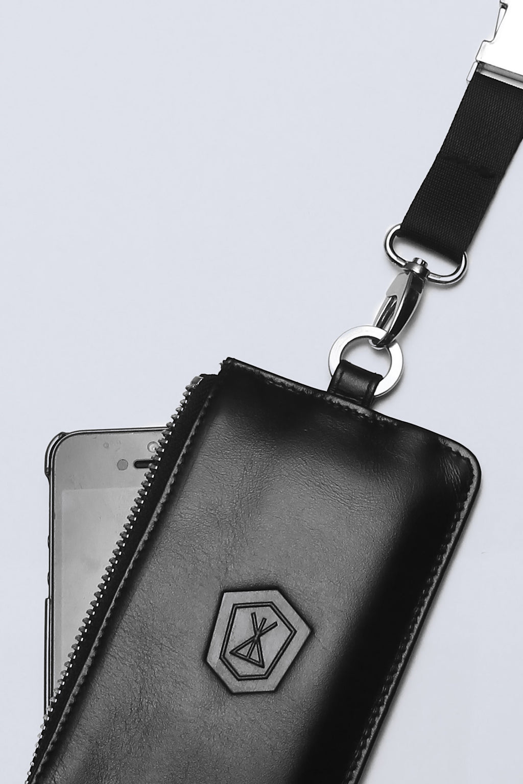 Long x Immense Leather I Phone Case-1780