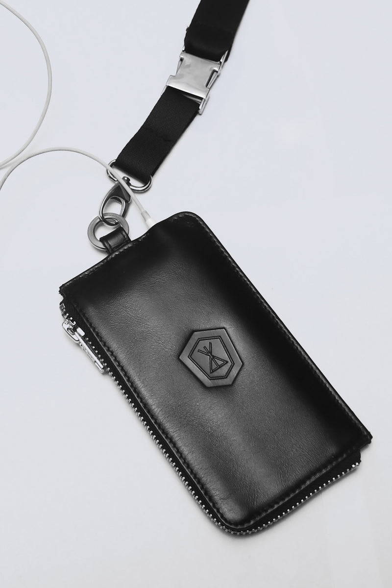 Long x Immense Leather I Phone Case-1781
