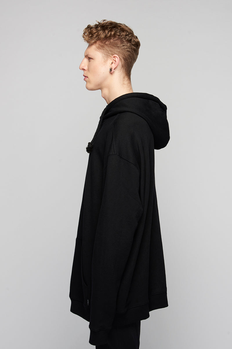 Lux Oversize Hooded Sweat -3985