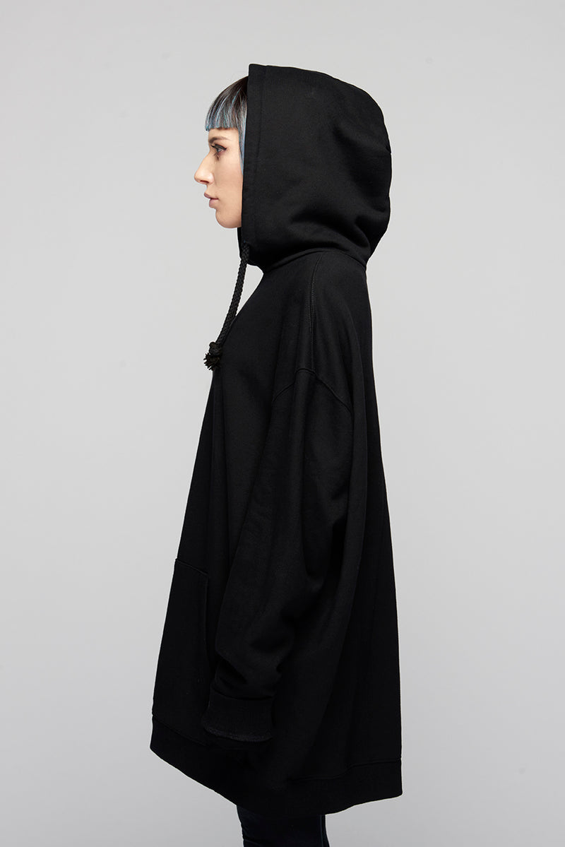 Lux Oversize Hooded Sweat -3986