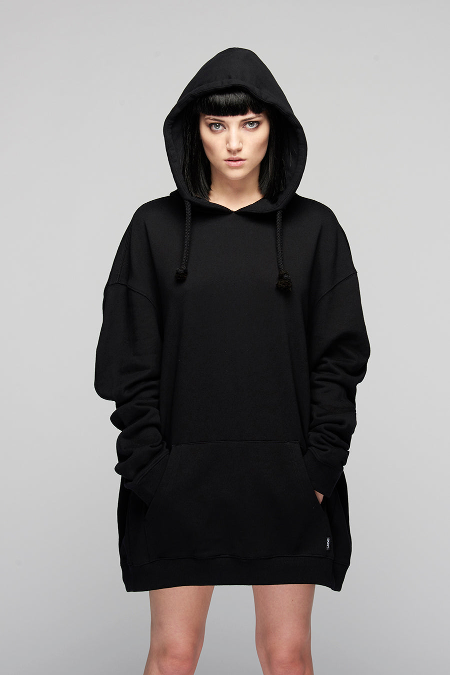 Lux Oversize Hooded Sweat -0