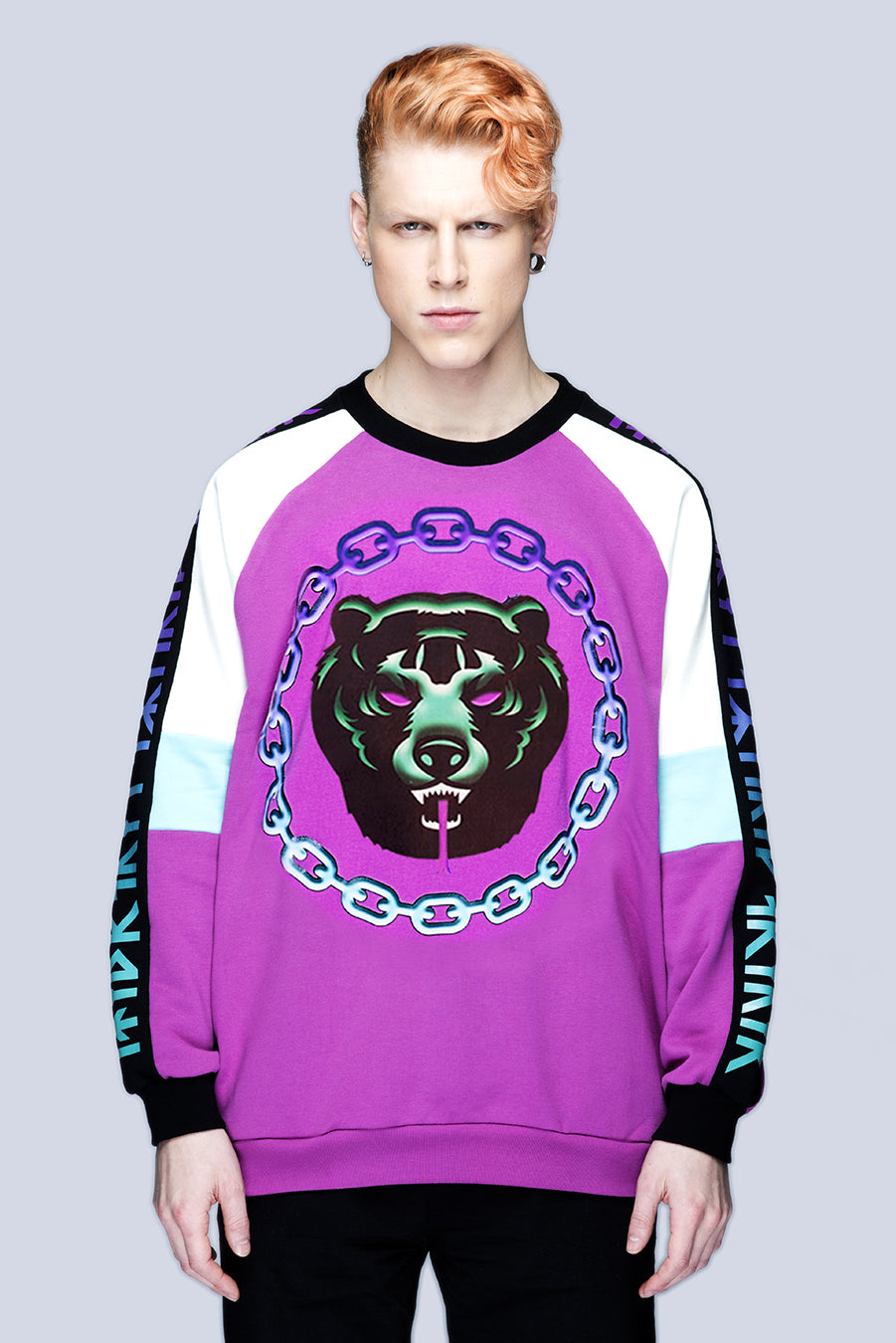 Mishka 2.0 Death Adder Chain Sweat-3521