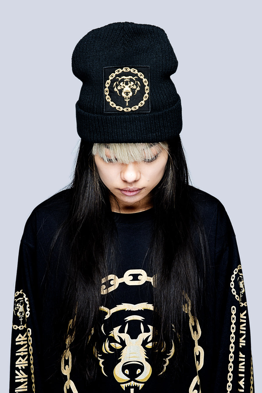 Mishka 2.0 Death Adder Chain Beanie-3437