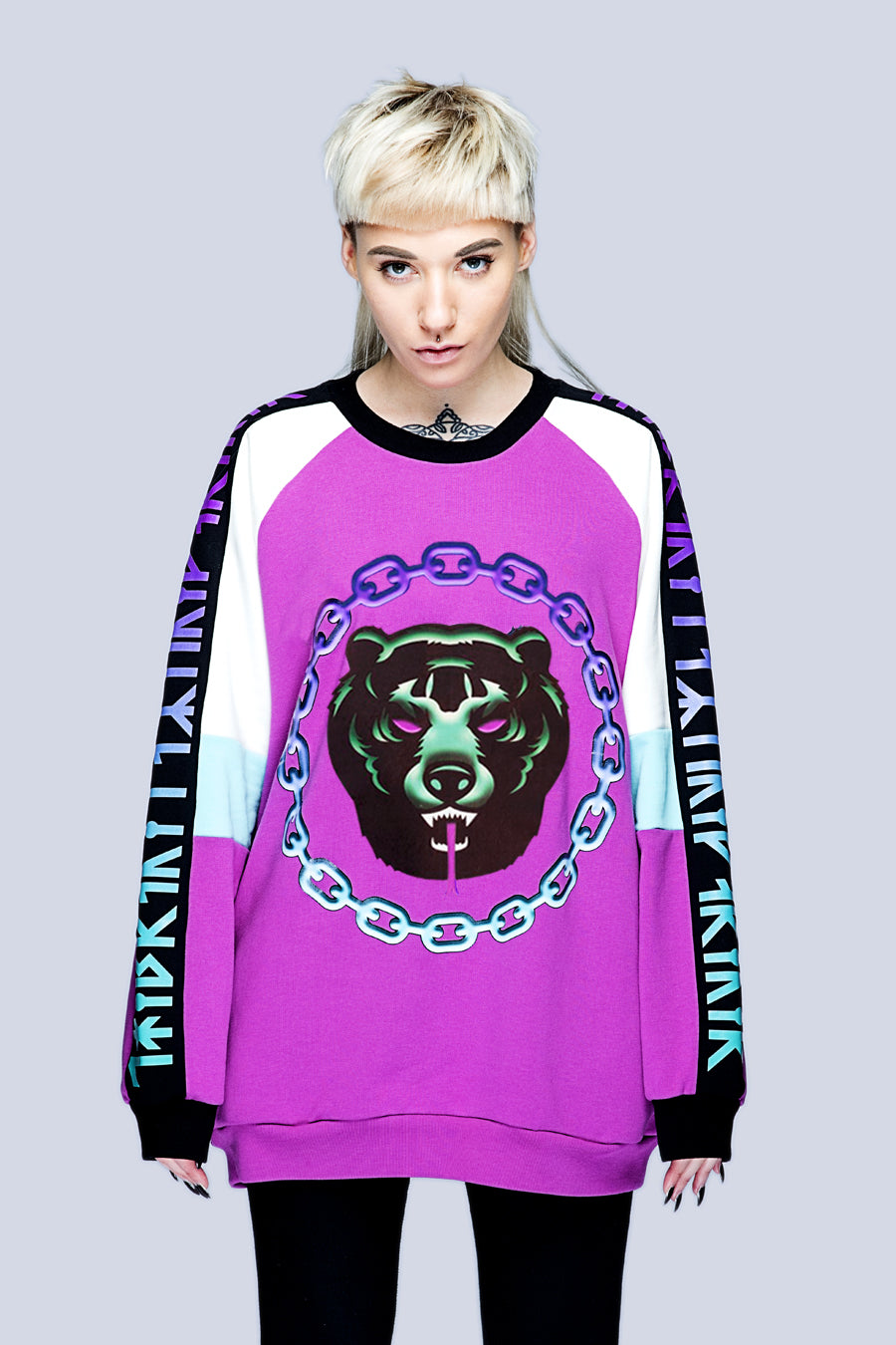 Mishka 2.0 Death Adder Chain Sweat-0