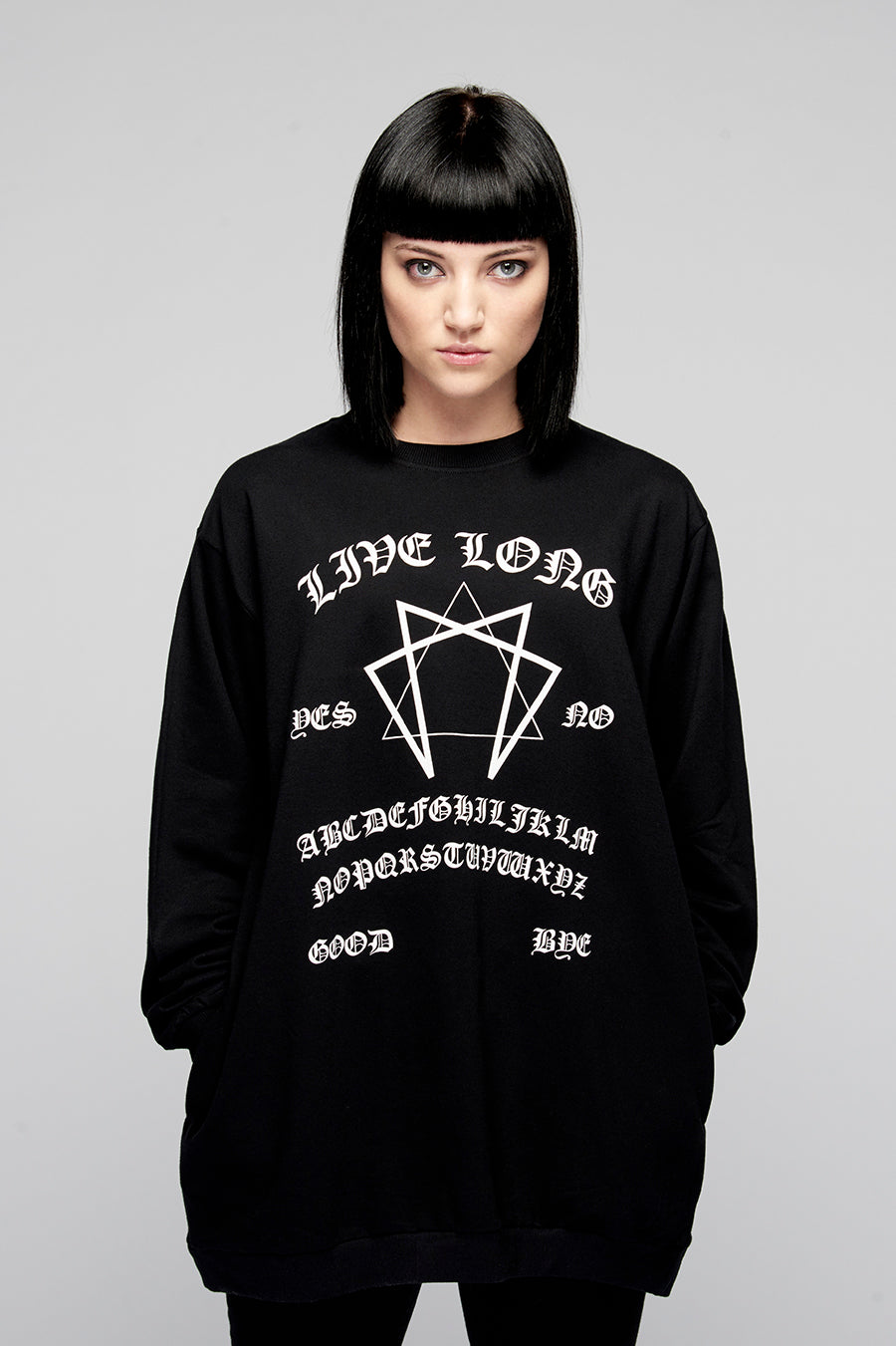Ouija Pocket Sweat (B)-3967