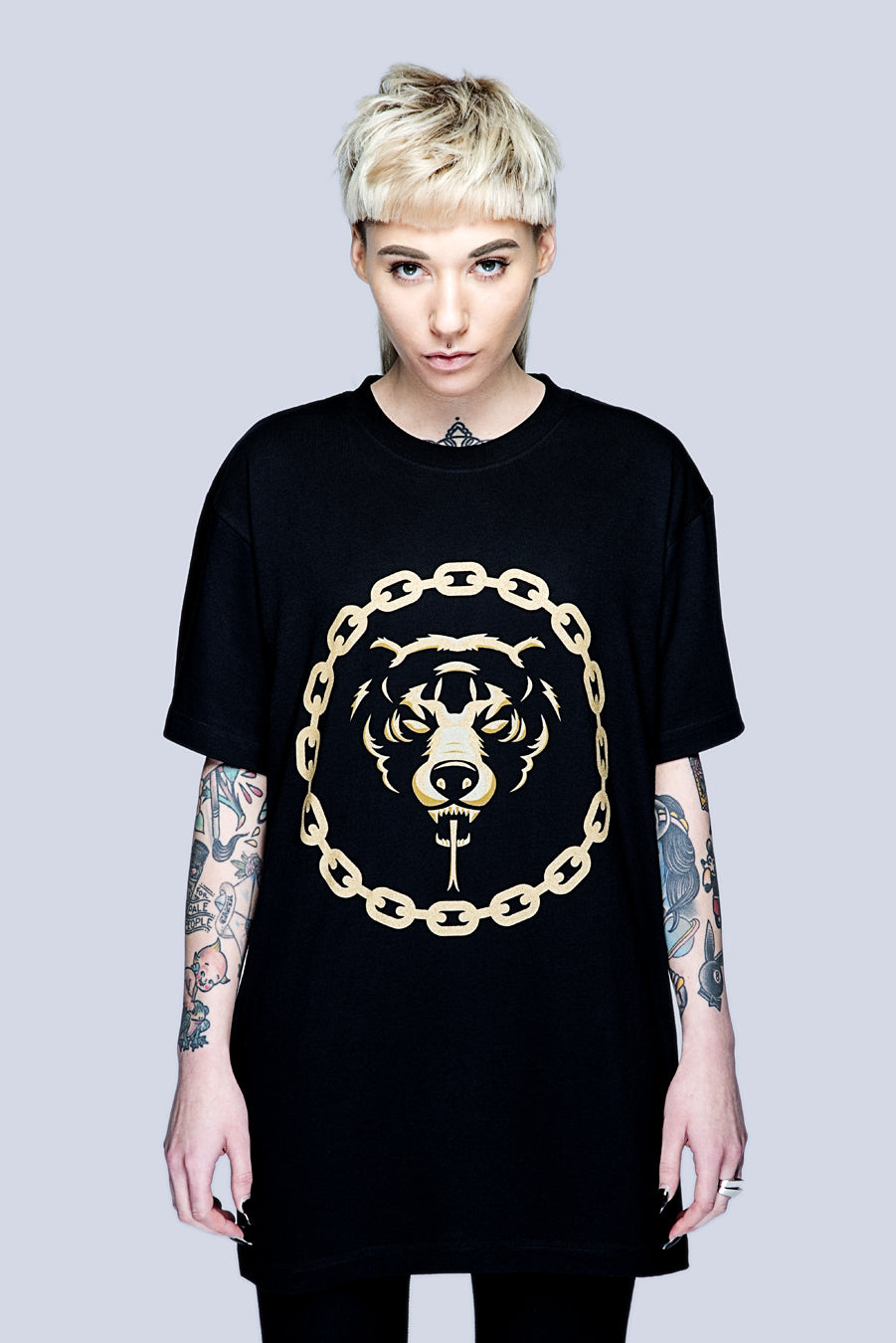 Mishka 2.0 Death Adder Chain (Gold)-0
